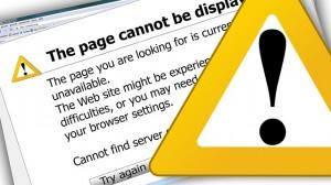 La página no se puede mostrar